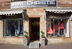 A.M. Christie boutique Galston Ayrshire Scotland. Ayrshire Mother of the Bride. Ayrshire Ptom dress dresses. Wedding guest dress Ayrshire. Galston fashion. Independent fashion boutique Ayrshire.